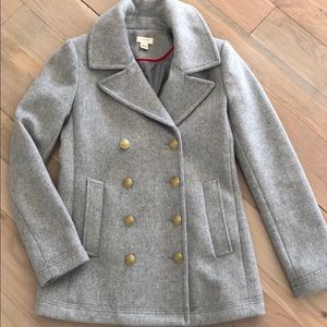 J.Crew Factory Gray Wool Coat